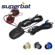Superbat DAB/DAB+/GPS/FM/AM Car Digital Radio Amplified Aerial Roof Mount Antenna Aerials
