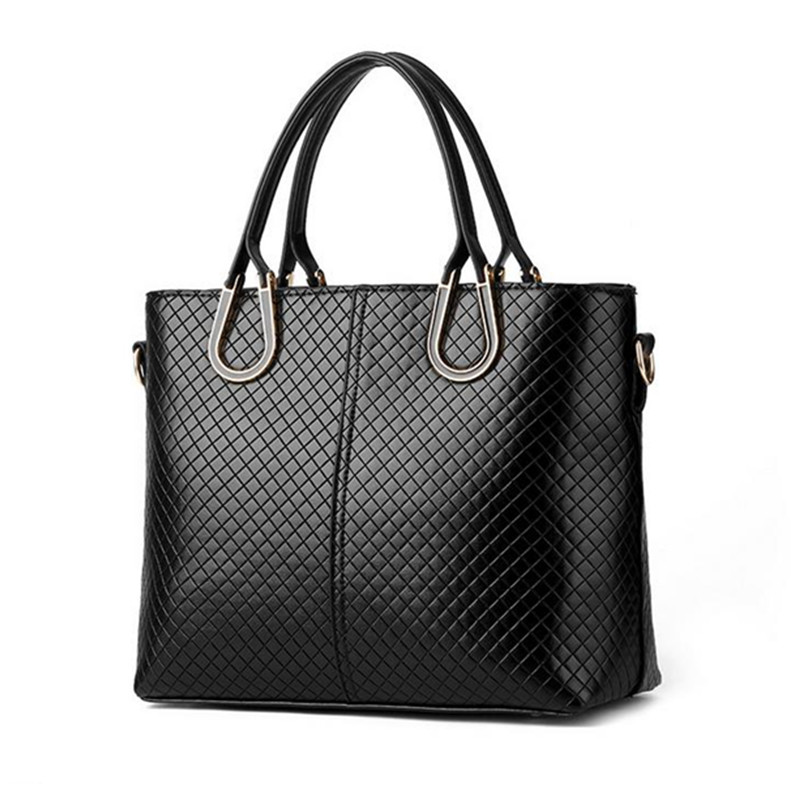 4b0666ec50564c BARHEE Women Luxury Designer Handbags High Quality PU Leather Office  Business Ladies Large Tote Bag Bag Plait Black Blue New-in Shoulder Bags  from Luggage ...