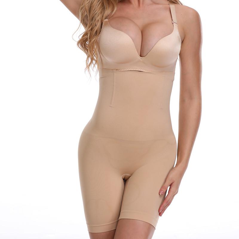 a78df34a98 ... NINGMI Slimming Pants Women High Waist Trainer Tummy Control Panties  Thigh Butt Lifter Slim Leg Hot ...