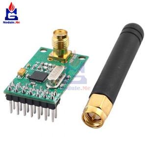 NRF905 Draadloze Transceiver Module Draadloze Zender Ontvanger Board NF905SE Met Antenne Fsk Gmsk Low Power 433 868 915 Mhz