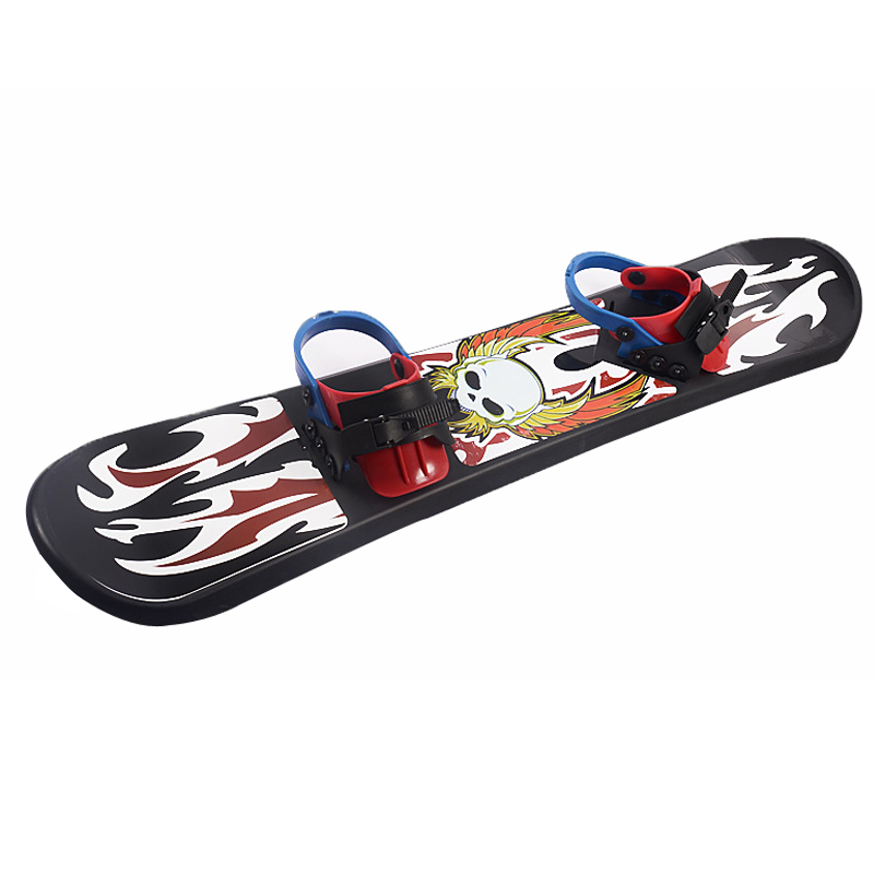 Children's Cartoon Freeride Grass/Sand/Skiing Snowboard Board Leisure Plastic Snowshoes Single Board Skating Kids 37 43 50Inch inflatable sand tray plastic mobile table for children kids indoor playing sand clay color mud toys accessories multi function