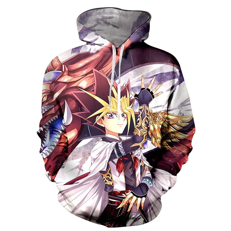 Men's Clothing Buy Cheap Yu-gi-oh Hoodie Sweatshirts Yugi Muto Aibo Atem 3d Hoodies Coat Pullovers Men Women Outerwear Jacket Hoodie