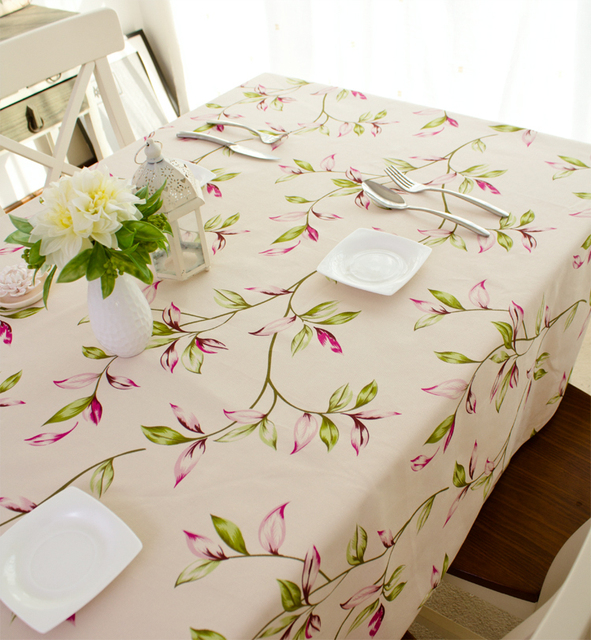 hibiscus floral 100 cotton fabric table runner cloth pillow sofa