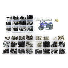 For Yamaha YZF-R1 YZF R1 2009-2014 Motorcycle Full Fairing Bolts Kits Nuts Body Screw Clips Screws Steel OEM Style for yamaha yzfr1 yzf r1 yzf r1 2004 2005 2006 full fairing bolts kit fairing clips nuts bodywork screws stainless steel