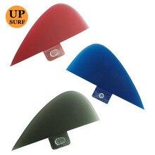 Surf FCS Small Fin red/Black/blue 3 color SUP Board Fins Knubster Centre Kneel Fin