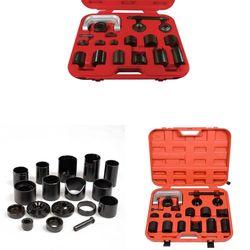 Przegub kulisty narzędzie do automatycznego usuwania instalatora 21 sztuk i zestaw adapterów głównych w Zestawy narzędzi ręcznych od Narzędzia na