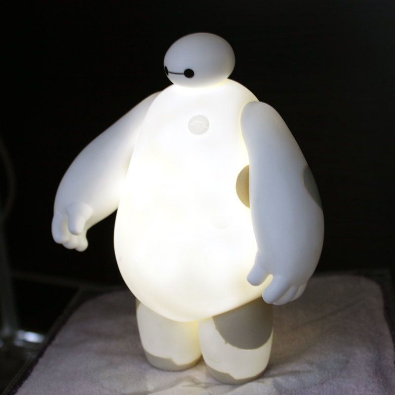 The Big Hero 6 Cartoon Baymax LED Night Light White and Lovely ...