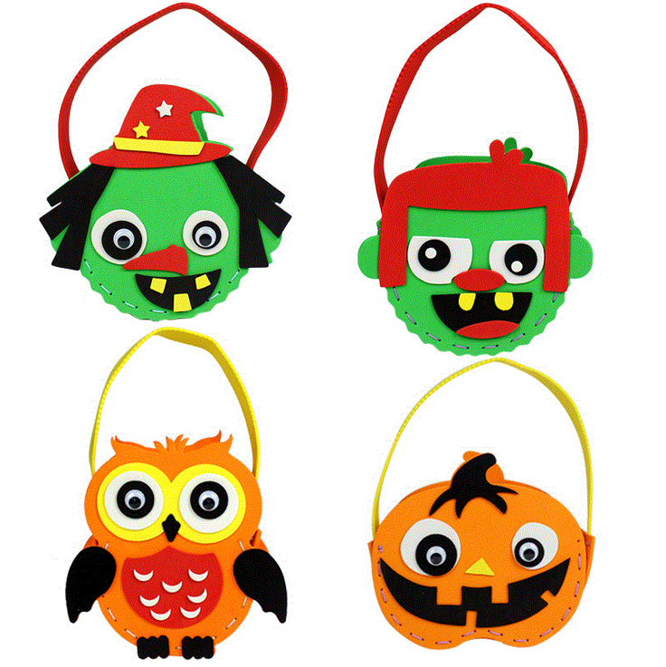 mylb 7pcs Sewing Art DIY Babay Toys Felt Craft Free Cutting Felt Material Package Handmade Cute doll for kids Christmas gift