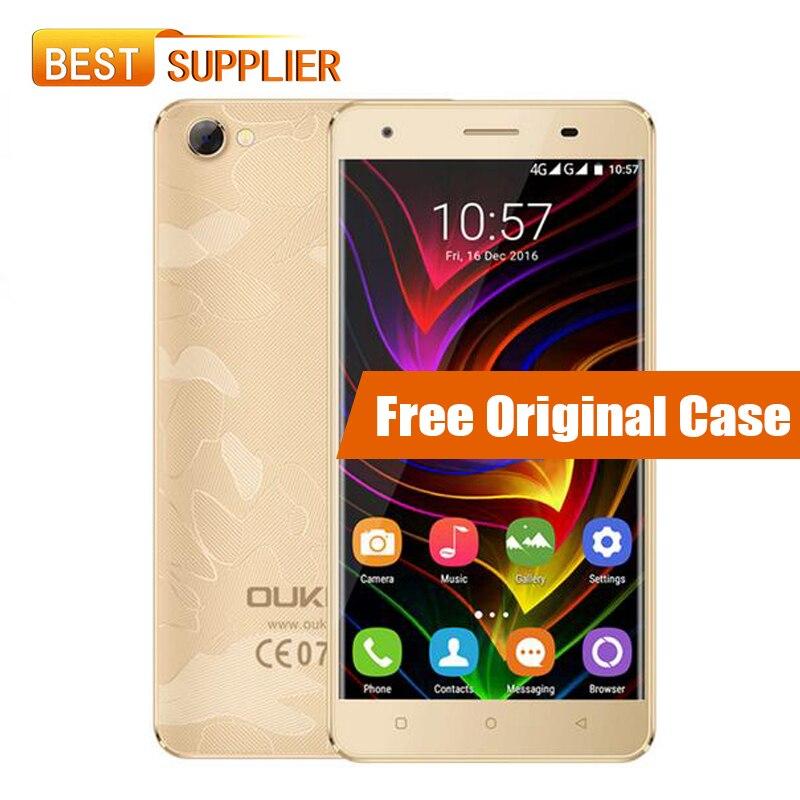 "bilder für Oukitel C5 Pro Smartphone 5,0 ""HD MTK6737 Quad Core 2 GB RAM 16 GB ROM 2000 mAh Android 6.0 5MP + 2MP FDD LTE 4G Handy"