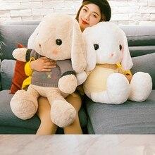 PINIDAMAN Cuddy Soft Kanin Fylld PlushToy med tröja Kanin Doll Kids Födelsedag julklapp