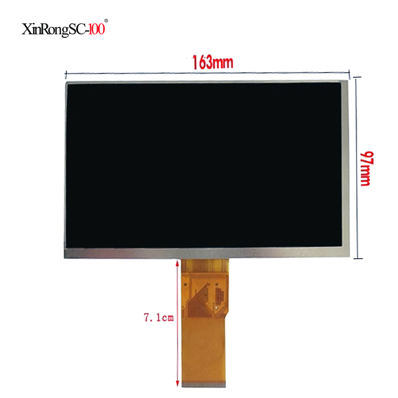 New LCD Display Matrix 7 Allview AX4 Nano TABLET TFT LCD Screen Panel Lens Frame replacement Free Shipping aa084vc06 8 4inch lcd display screen industrial lcd panel 800x600 tft lcd