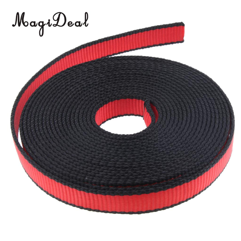 22KN Safety Rock Climbing Sling Fall Protection Rescue Nylon Webbing Strap Belt