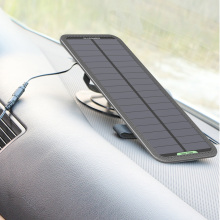 Portable Solar Charger 12V Solar Car Battery Maintainer Charger Keep from Car Battery Drain Out Power No Worry Current Backflow.