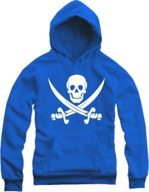 men hoodies thick warm winter fur sweatshirts boys skull bone font b knife b font pirate