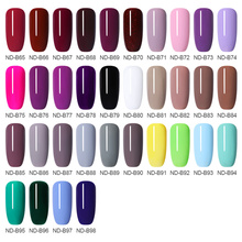 NICOLE DIARY 56 Colors Nail UV Gel Polish One Step  Nail Clor Varnish Pen 3 In 1 Nail Art Color Gel