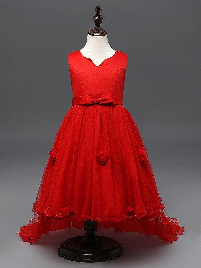 Mädchen Kleid Kinder Elegante Abendkleid Mädchen 2 10 Jahre ...