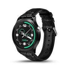 Gw01 smart watch pulsómetro bluetooth 4.0 smartwatch para android ios 4.3 7 ips pantalla redonda resistente al agua la vida