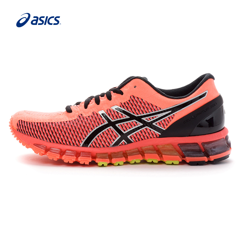 Original ASICS Women Shoes GEL-QUANTUM 360 CM Breathable Cushioning Running Shoes Light Sports Shoes Sneakers free shipping