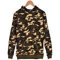 Camo sudaderas Hombres y mujeres sudaderas hip-hop camuflaje Ejército de Campaña chándales de ropa deportiva de moda casual suéteres hoody ropa