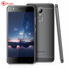 Doogee HOMTOM HT37 Android 6.0 MTK6580 Quad Core 2 ГБ оперативной памяти 16 ГБ ROM 5.0 дюймов 1280×720 отпечатков пальцев Смартфон 3000 мАч мобильного телефона