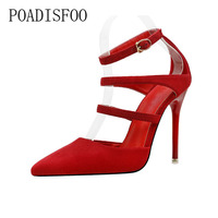 Fashion Sexy Nightclub Style With Shallow Mouth Low To Help High Heeled Women S Shoes Rome