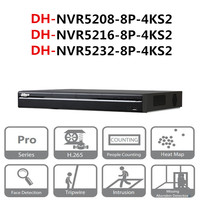 Oferta DH POE NVR NVR5208-8P-4KS2 NVR5216-8P-4KS2 NVR5232-8P-4KS2 8/16/32 CH 8 PoE 4K y H.265 Pro grabador de vídeo en red
