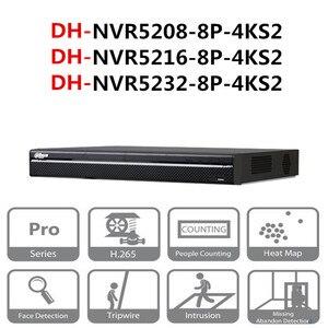 Image 1 - 大華poe nvr NVR5208 8P 4KS2 NVR5216 8P 4KS2 NVR5232 8P 4KS2 8/16/32 ch 8 poe 4k & H.265 プロネットワークビデオレコーダー
