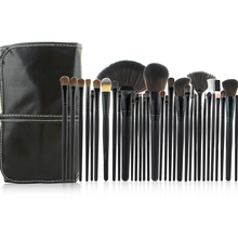 32pcs black Professional makeup brushes set cosmetic brush kit case make up brush kits makeup beauty Face care tool for you