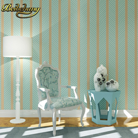 beibehang shimmer wave lines stripe pvc wall paper home decor wallpaper for walls papel de parede 3D design effect wall paper