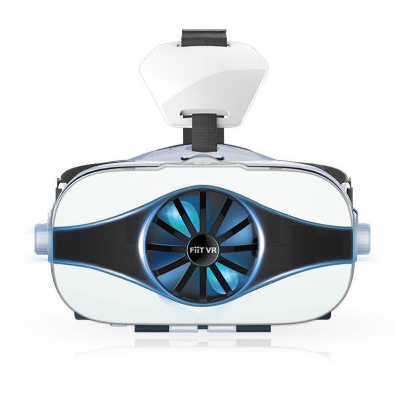 Óculos de Proteção da Realidade Virtual com Ventilador Fone de Ouvido Adequados para 4.0-6.33 Óculos Filme Jogo Polegadas Telefone Móvel vr & 3d