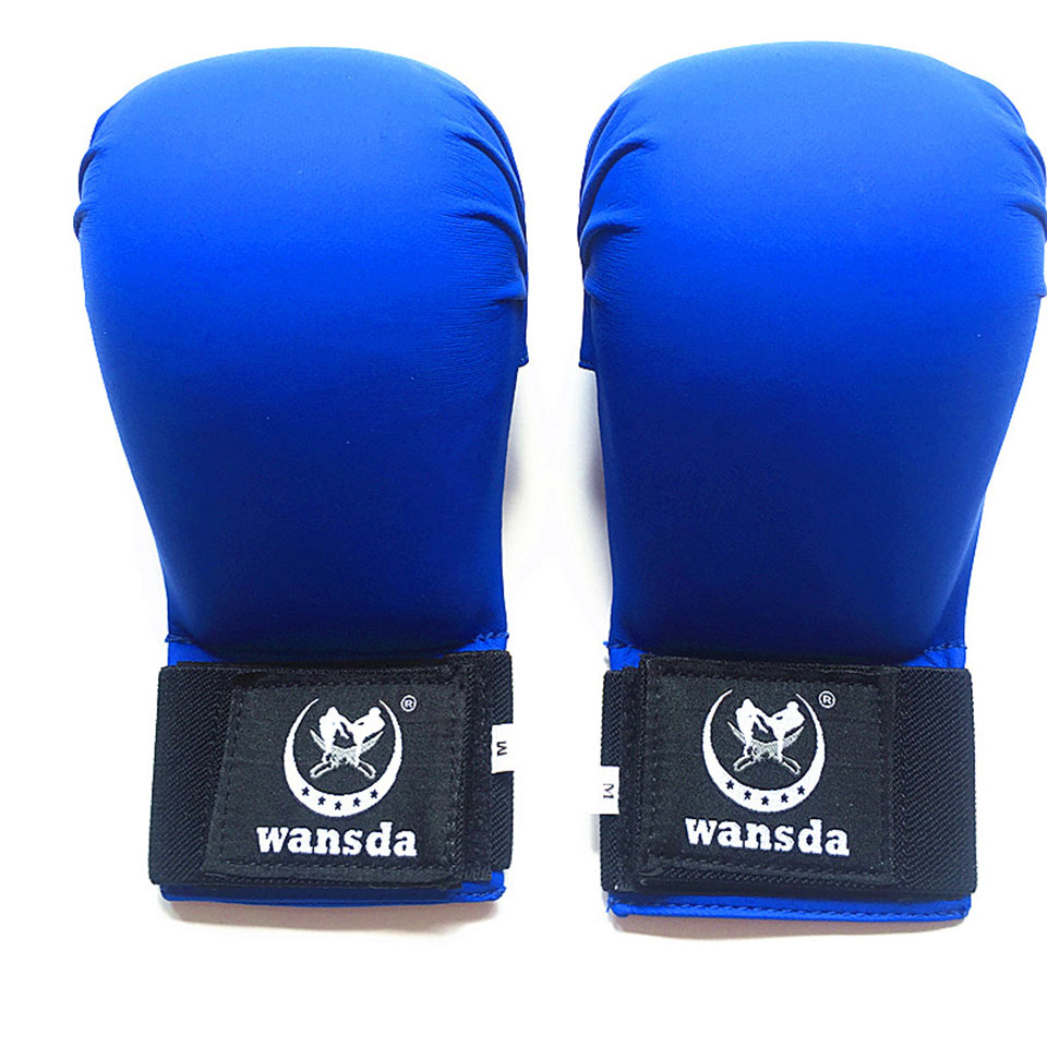 New Leather Fighting Fitness Boxing Gloves Half Finger -4731