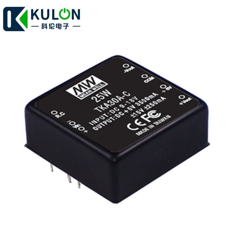 MEAN WELL 15V 250mA meanwell TKA30B C 25W 18~36V to 5V +15V  15V DC DC Triple Output Converter-in Switching Power Supply from Home Improvement    1