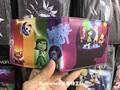 Mente agente de Adentro Hacia Afuera gran batalla de dibujos animados de dibujos animados billetera billetera del estudiante de los niños
