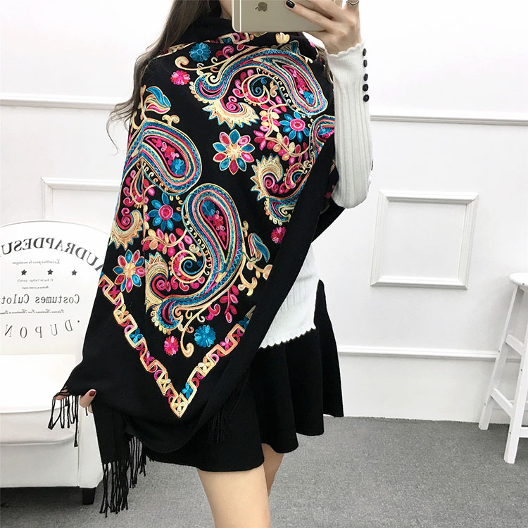 Luxury brand scarf women,embroidery scarf,bandana,pashmina shawls,pashmina cashmere,winter women cape,shawls and scarves,wraps
