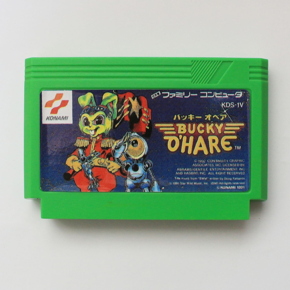 Bucky o'hare 60 Pasadores tarjeta de juego para 8 bit subor game Player