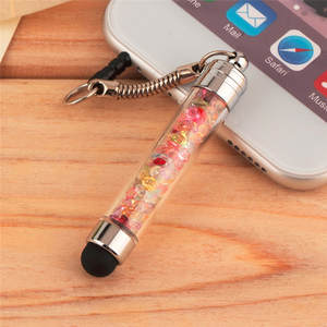 FFFAS Cap Styluses-Pen Tablet Android-Phones 2-In-1 Dust-Plug Diamond for Crystal