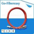 Wholesale Fiber Optic Patch cord SC-SC,Duplex,MM,62.5/125,3mts,3mm