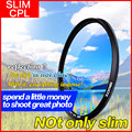 Original Zomei 77mm Ultra Slim Optical CPL Circular Professional Polarizing Polarizer Filter for Canon Nikon Sony Pentax lens