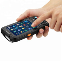 IP65 Handheld Terminal 4G 3G 2G GSM Rugged rfid pda Barcode Scanner Android pda devices with sim and psam card slot