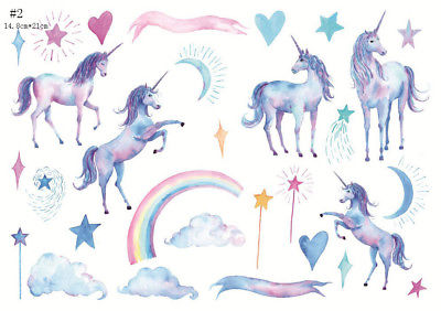 ream unicorn kawaii notebook stickers decorations DIY Manual stickers School office teaching scrapbooking gift Diary Deco