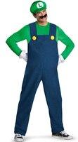 Cadılar bayramı Yetişkin Adam Süper Mario Kostüm Kırmızı Yeşil Maro Luigi Kardeş Kıyafet Tulum Gömlek Seti Cosplay Fantasia Fantezi Elbise