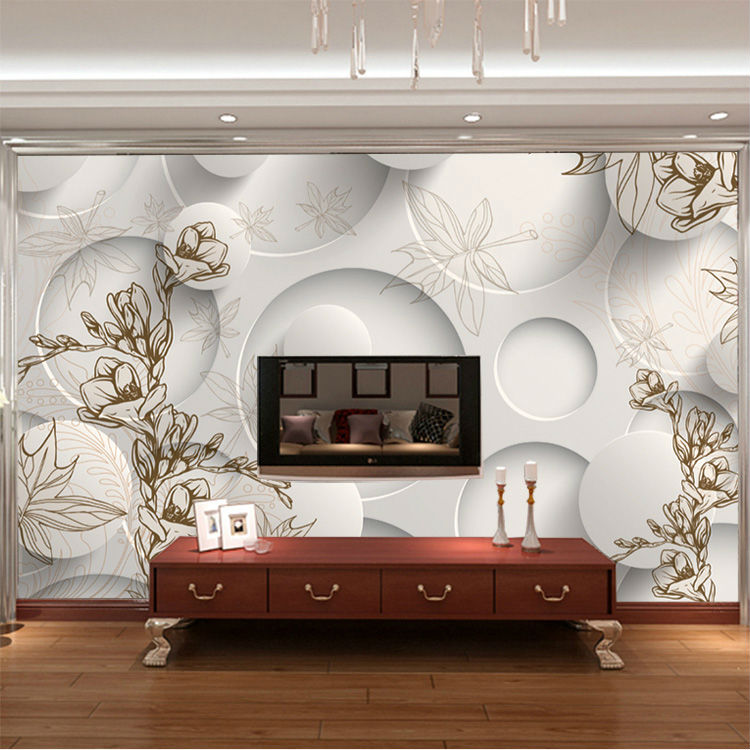 Superieur 3D Wallpaper European Simple Photo Wallpaper Bedroom Ceiling Kid Room Decor  Club Living Room Decoration Modern Design Wall Mural In Wallpapers From Home  ...
