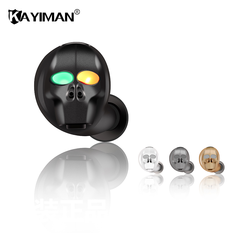 Mini Bluetooth Earphone with Mic Wireless Headset Music Earbud Bluetooth V4.1 Noise Canceling for phone,Xiaomi,Samsung KAYIMAN