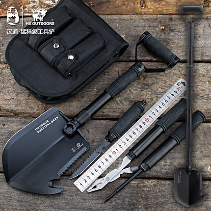 Multifunctional Folding Shovel Outdoor survival Axe Cutting camping shovel Gardening Tools Snow Spade Pick Saw Hunting Tools Car outdoor protable survival folding spade shovel multifunction shovel hiking tools accessories military hunting camping shovel