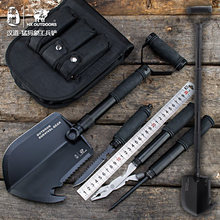 Multifunctional Folding Shovel Outdoor survival Axe Cutting camping shovel Gardening Tools Snow Spade Pick Saw Hunting Tools Car