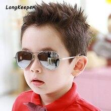 Brand Child Sunglasses Mirror Glasses Metal Pilot S