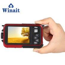 2017 High Quality Digital Camera Full HD 1080P Max 24MP Mini DV Camera 16x Zoom Waterproof Camera Support 32GB Card