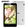 Multi-Languages Tablet PC 7 inch Aoson M751S-BS Quad Core 512M/8G Dual Camera Android WiFi External 3G Bluetooth PC Tablets