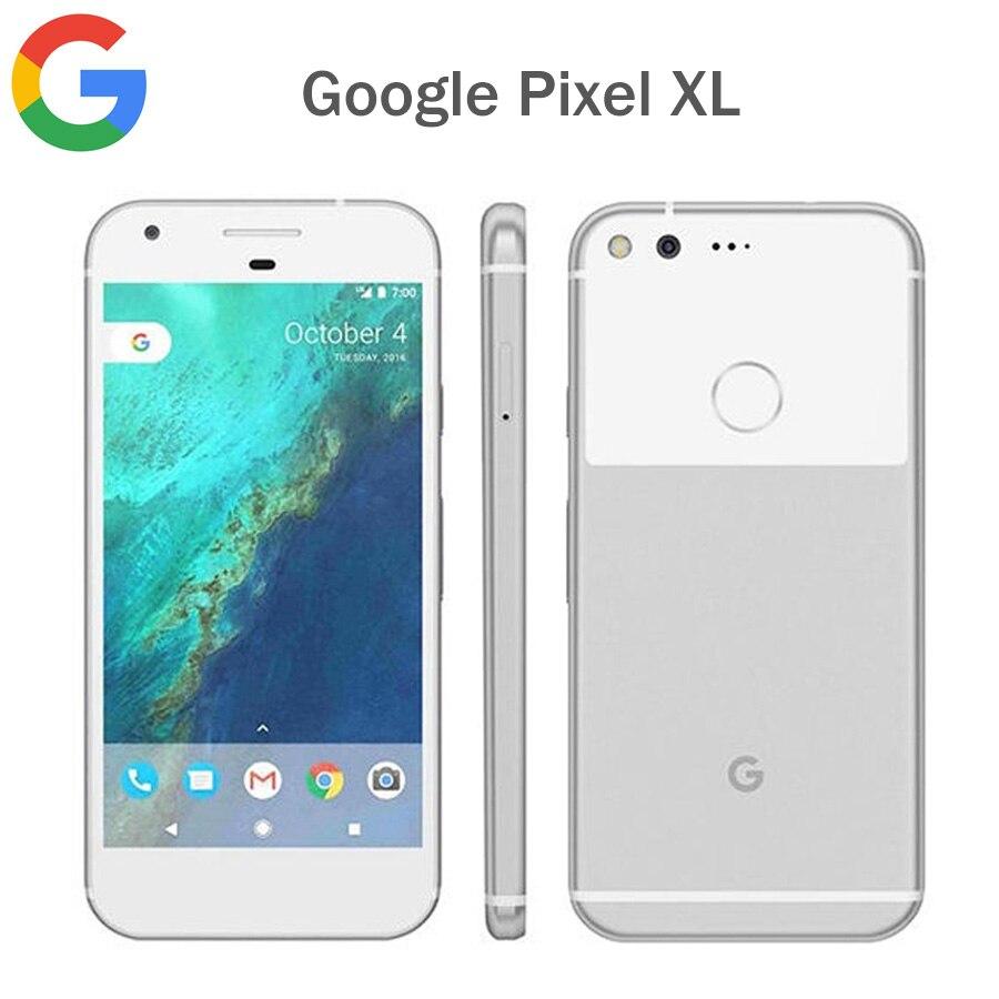 Original google pixel xl eua versão 4g lte telefone móvel 4 gb ram 32 gb/128 gb rom 5.5