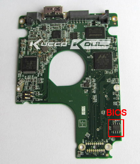 HDD PCB Logic Board 2060-771949-000 REV P1 For WD 2.5 USB Hard Drive WD5000LMVW WD7500KMVW Repair Data Recovery